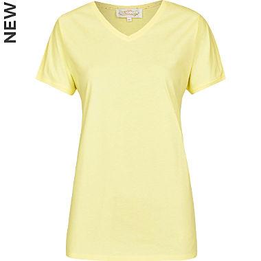 Bloomy single-jersey women's T-shirt
