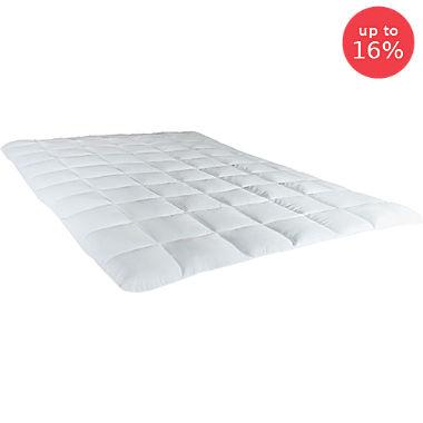 Microfibre mattress topper